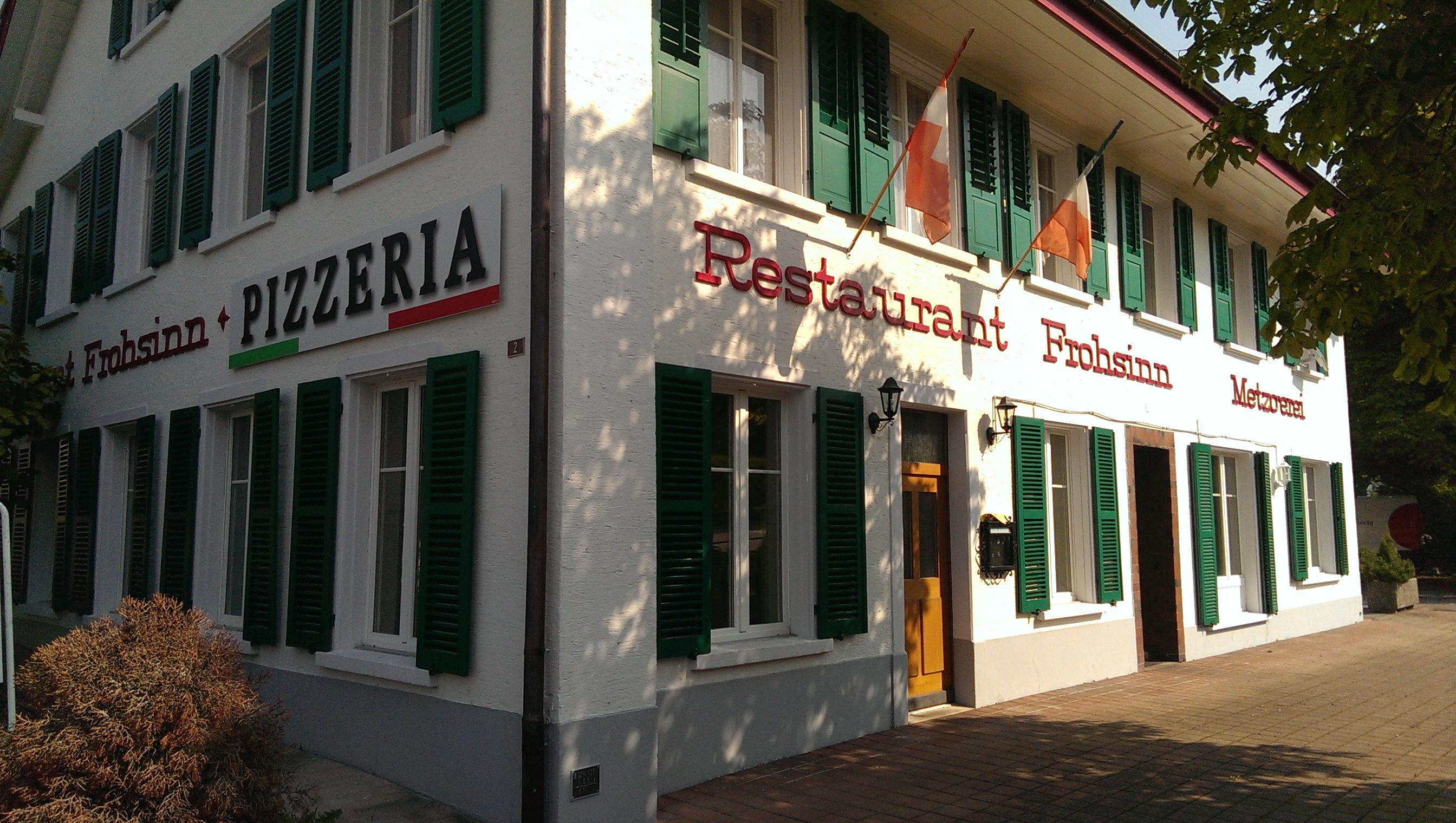 """Restaurant Frohsinn """"Zinggen"""""""