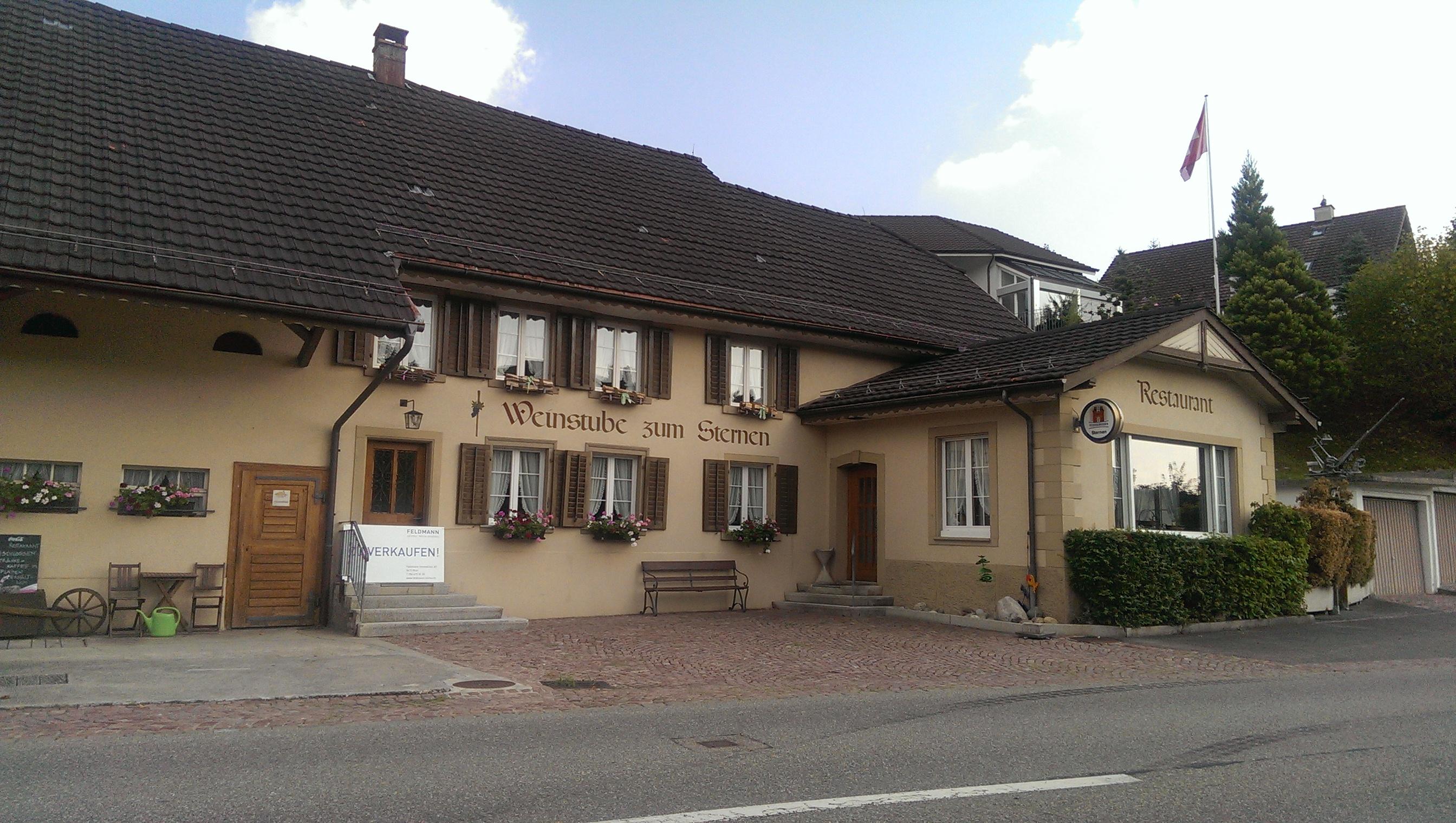 Weinstube Sternen, Elfingen