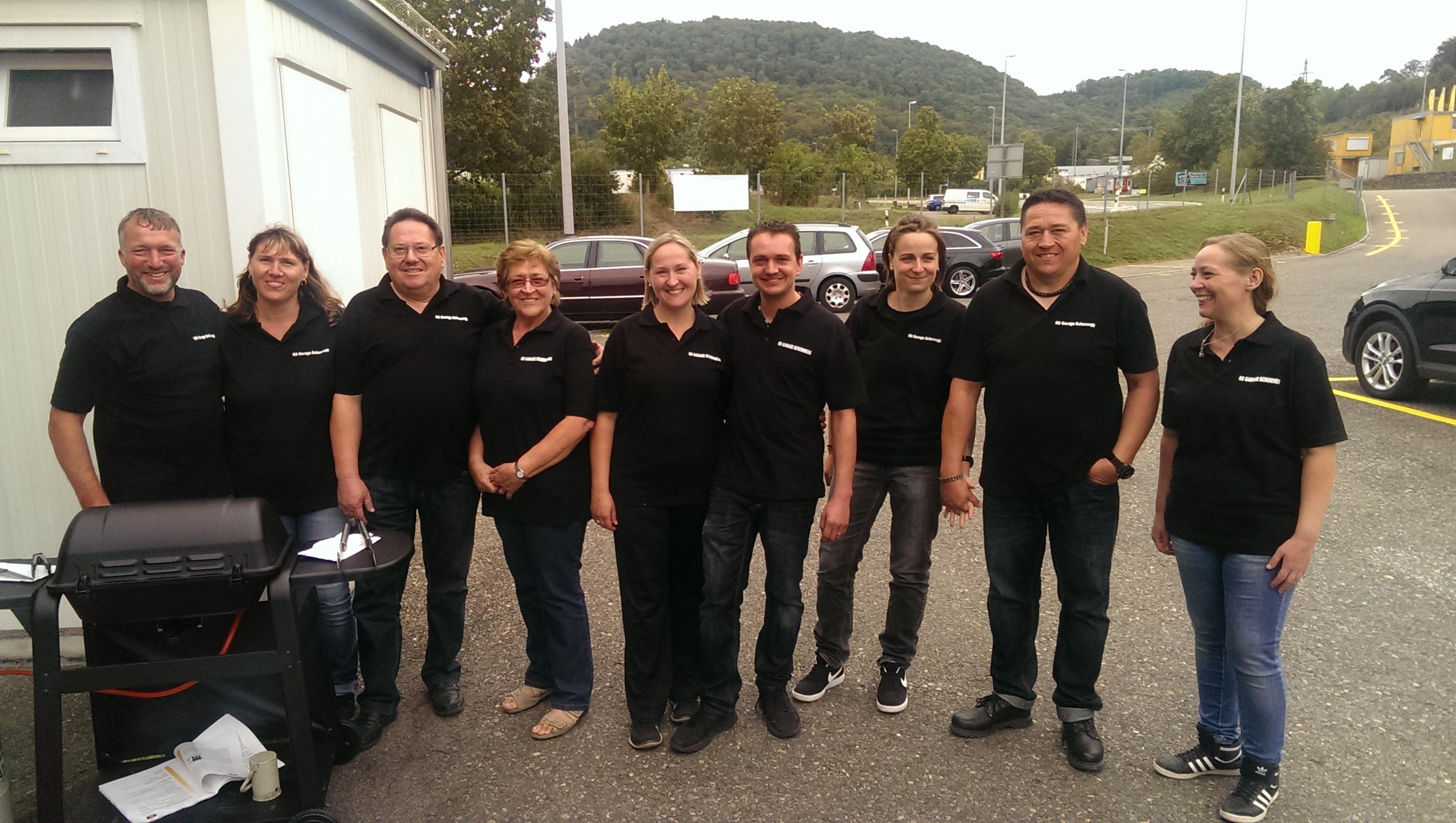Generationenwechsel Familienbetrieb RS Garage Schornegg am 1. Oktober 2016